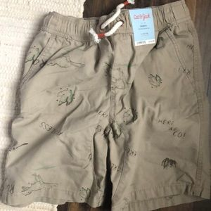 Boys Dino shorts NWT